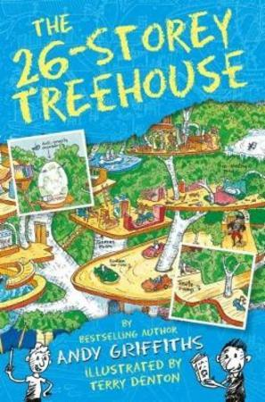 Andy Griffiths Heftet The 26-storey treehouse