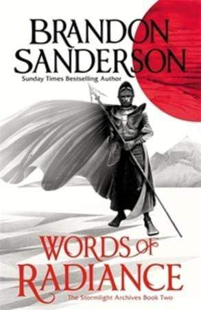 Brandon Sanderson Heftet Words of radiance: part 1: the stormlight archive 2