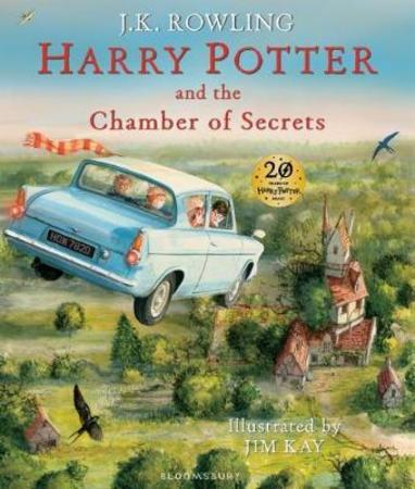J.K. Rowling Innbundet Harry Potter and the chamber of secrets
