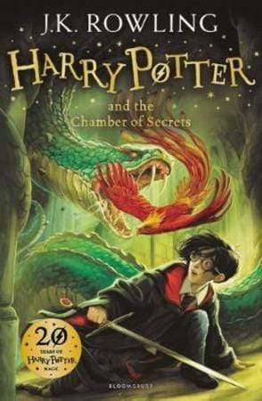 J.K. Rowling Heftet Harry Potter and the chamber of secrets