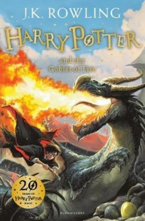 J.K. Rowling Heftet Harry Potter and the goblet of fire