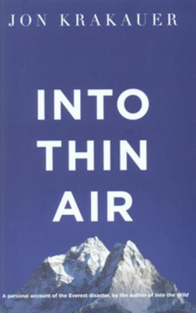 Jon Krakauer Heftet Into thin air: a personal account of the Everest disaster