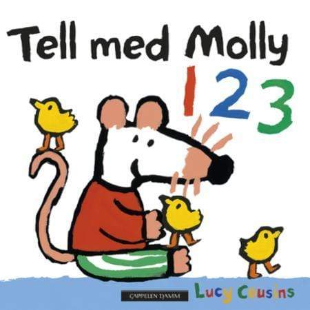 Lucy Cousins Pappbok Tell med Molly