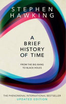 Stephen Hawking Heftet A brief history of time: from the big bang to black holes