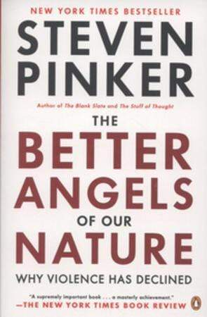 Steven Pinker Heftet The better angels of our nature: why violence has declined