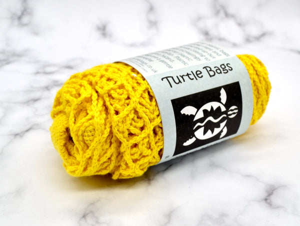 Turtle Bags - Organic Sunflower Short Handled String Bag