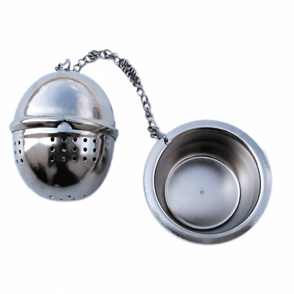 Stainless Steel Tea Ball Infuser with Chain