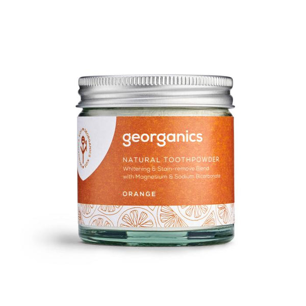 Georganics Orange Natural Toothpowder