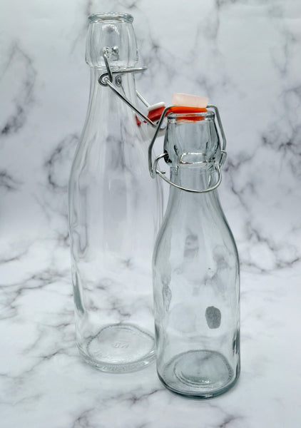 500ml Clip Lock Glass Bottle