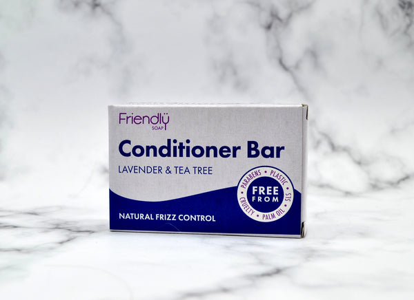 Friendly Soap Lavender and Tea Tree Conditioner Bar