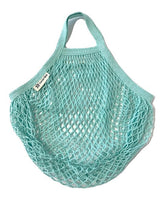 Turtle Bags - Organic Duck Egg Short Handled String Bag