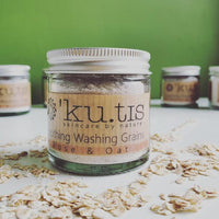 'Ku.tis Organic Washing Grains - Soothing - Rose & Oat
