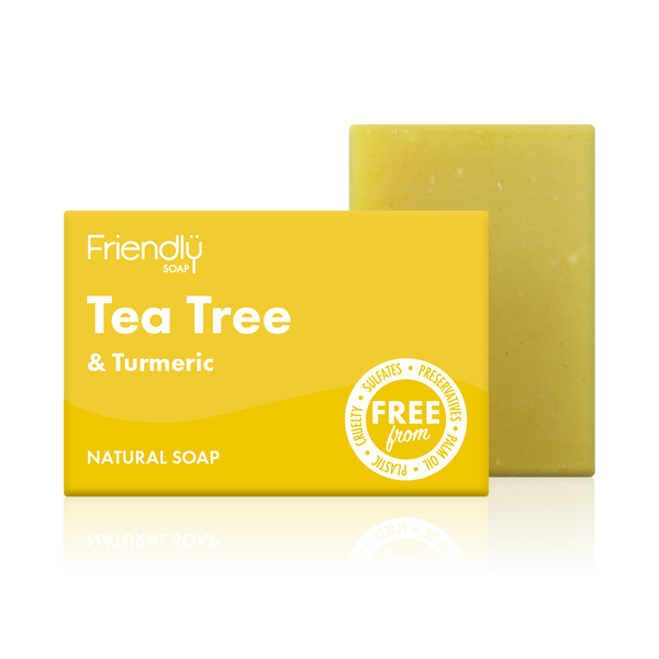 Friendly Soap Tea Tree and Turmeric Soap Bar