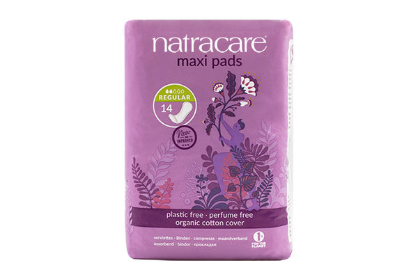 natracare Natural Maxi Pads - Regular
