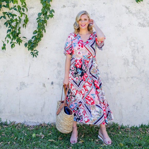 Wander Maxi Dress in Gypsy