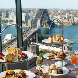 $190 High Tea for two with Free Flow Cocktails