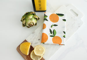Orange - Tea Towel