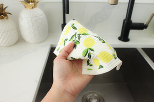 RESTOCKED Scallop Sage - Swedish Sponge Cloth