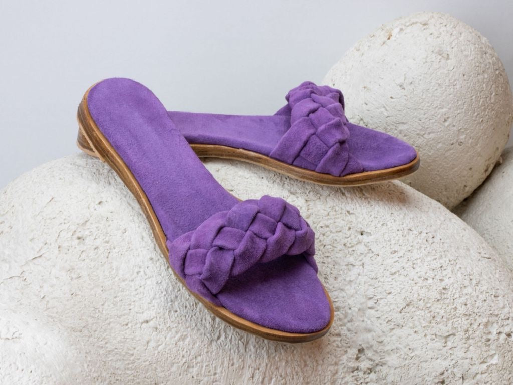 Sylvia slides - byzantine purple