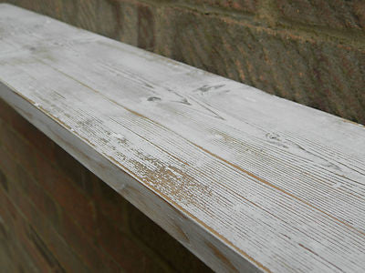 Reclaimed Wood Shabby Chic Country Rustic Distressed White