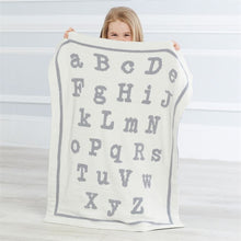Load image into Gallery viewer, ABC Chenille Blanket