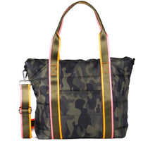 Load image into Gallery viewer, Camo Gym Bag