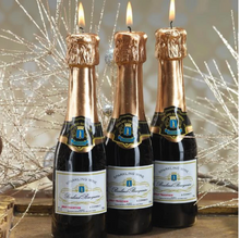 Load image into Gallery viewer, Mini Champagne Bottle Candle
