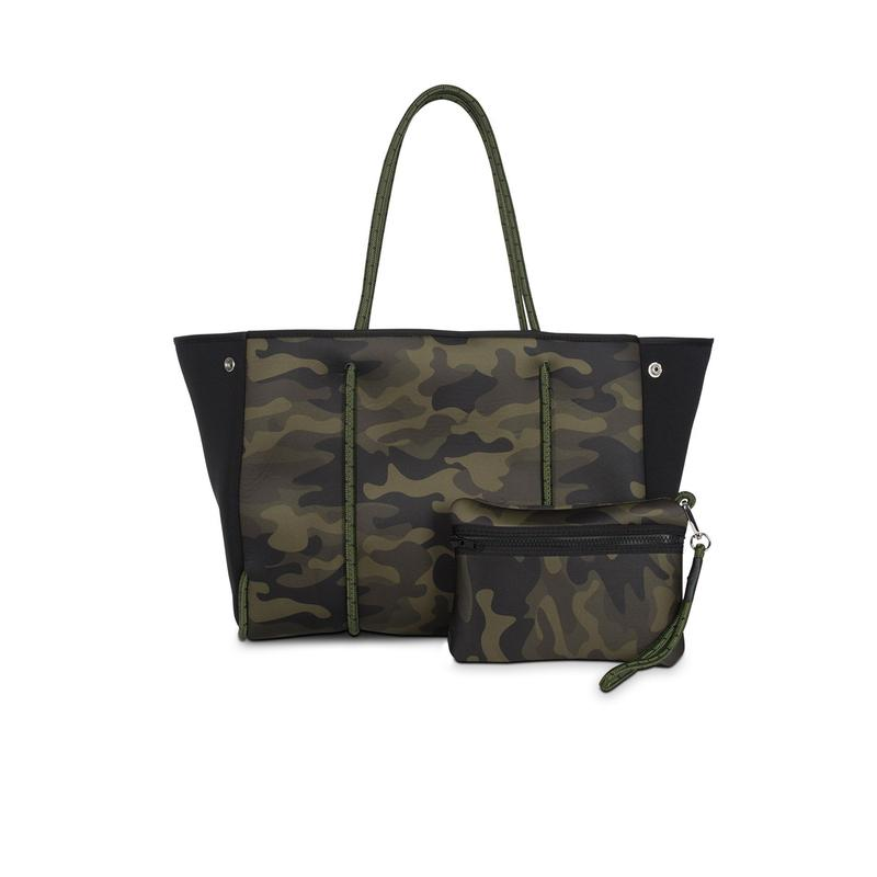 Camo Tote Bag – No Stripe