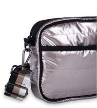 Load image into Gallery viewer, Metallic Champagne Puffer Purse