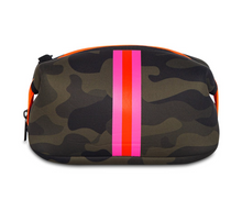 Load image into Gallery viewer, Camo Cosmetic Case – Pink Stripe
