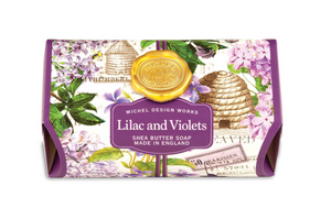Lilac & Violets Large Bath Bar Soap