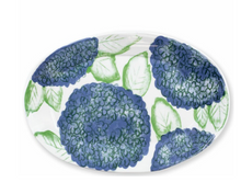 Load image into Gallery viewer, Melamine Hydrangea Platter