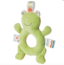 Load image into Gallery viewer, Reversible Frog & Bear Rattle