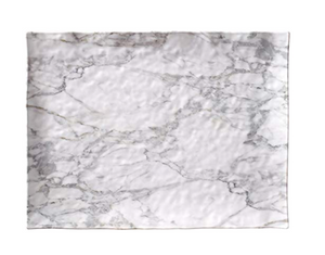 Melamine Marble Large Serving Tray