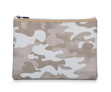 Load image into Gallery viewer, Gold Camo Wristlet