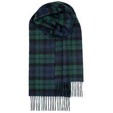 Load image into Gallery viewer, Cashmere Watchplaid Scarf