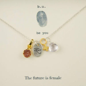 """The Future is Female"" Necklace"