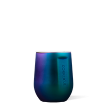 Load image into Gallery viewer, Blue & Purple Iridescent Stemless Tumbler