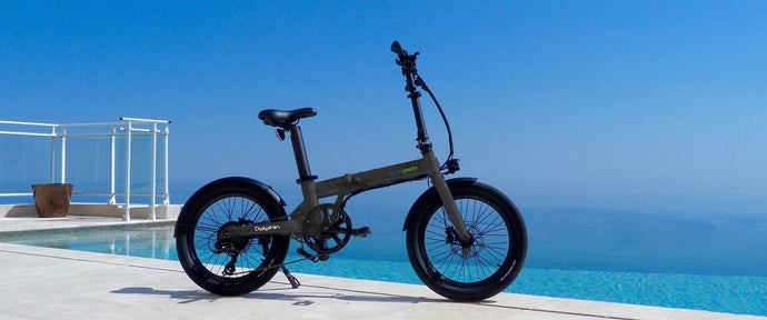 Looking for a Folding, Ultra-Compact eBike - Check out the Dolphin!