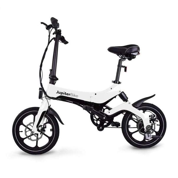 You can take it with you! The super-compact, foldable JupiterBike X5