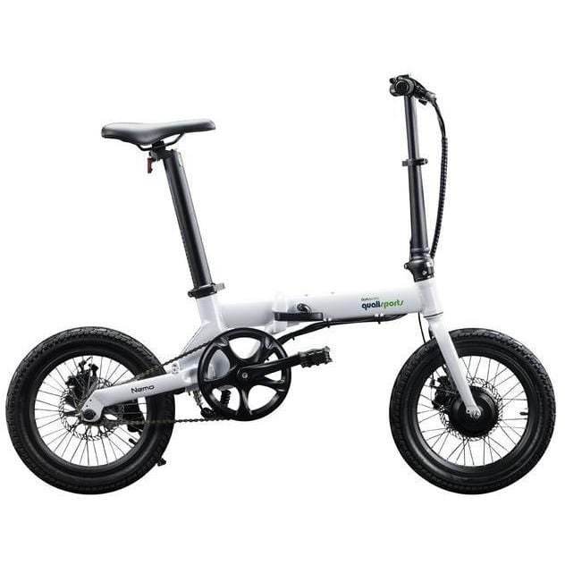 QUALISPORTS, NEMO, Folding Mini Ebike - 250 Watt, 36V - electricbyke.com