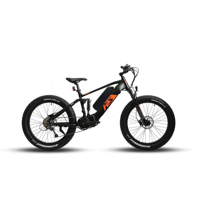 EUNORAU, 2021 FAT-HS All Terrain, Mid-Drive, Full Suspension, Fat Tire Electric Mountain Bike - 1000 Watt, 48V - electricbyke.com