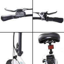 "Load image into Gallery viewer, ECOTRIC Dolphin 20"" Fat Tire Folding Electric Bike - 500 Watt, 36V - electricbyke.com"