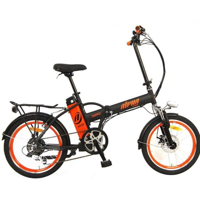 GREENBIKE ELECTRIC MOTION Alpha Speed, Urban Cruiser - 250 Watt, 36V - electricbyke.com