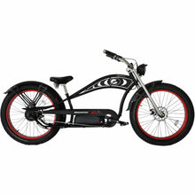 Load image into Gallery viewer, MICARGI CYCLONE DELUXE, Fat tire, Stretch Cruiser, Chopper Style - 500 Watt, 48V - electricbyke.com