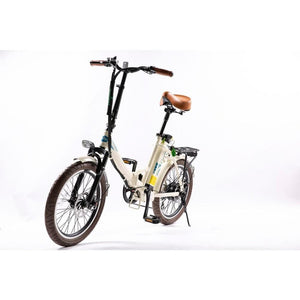 GREENBIKE ELECTRIC MOTION Classic LS European Design, Folding E-Bike - 350 Watt, 36V - electricbyke.com