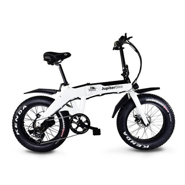 JUPITERBIKE DEFIANT Fat Tire Electric Folding Bike - 750 Watt, 48V - electricbyke.com