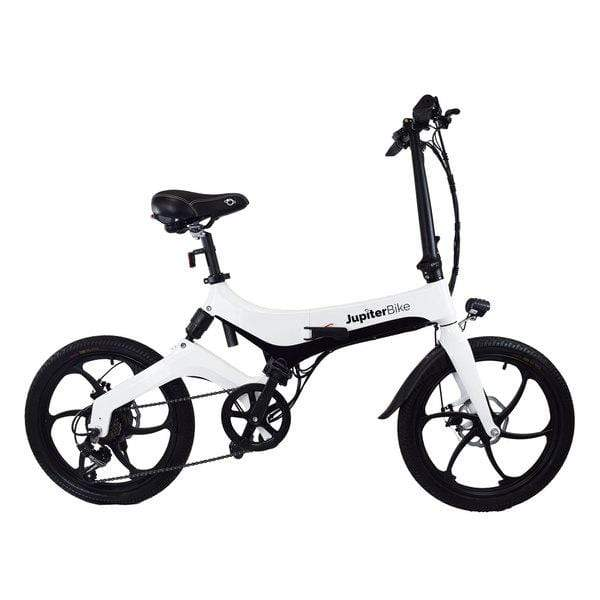 JUPITERBIKE DISCOVERY X7 Folding Electric Mountain Bike - 350 Watt, 36V - electricbyke.com