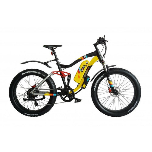 GREENBIKE ELECTRIC MOTION, Enduro Phat 48, Fat Tire, Mountain eBike - 750 Watt, 48V - electricbyke.com