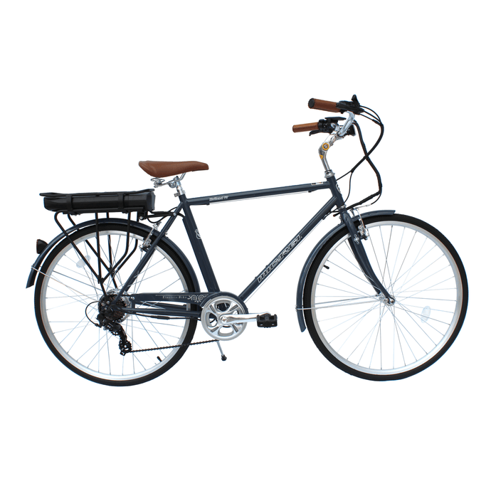 MICARGI HOLLAND V7, Men's City Commuter Bike - 350 Watts, 48V - electricbyke.com